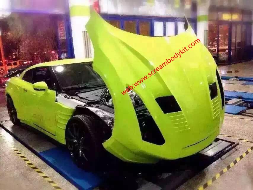 GTR Bensopra body kit