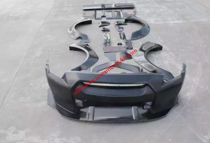 GTR wide body kit