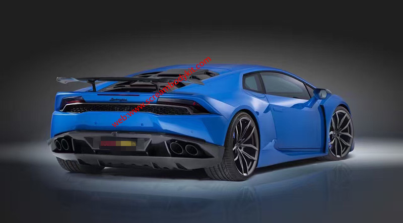Huracan LP610-4 Wide body kit front bumper after bumper fenders side skirts