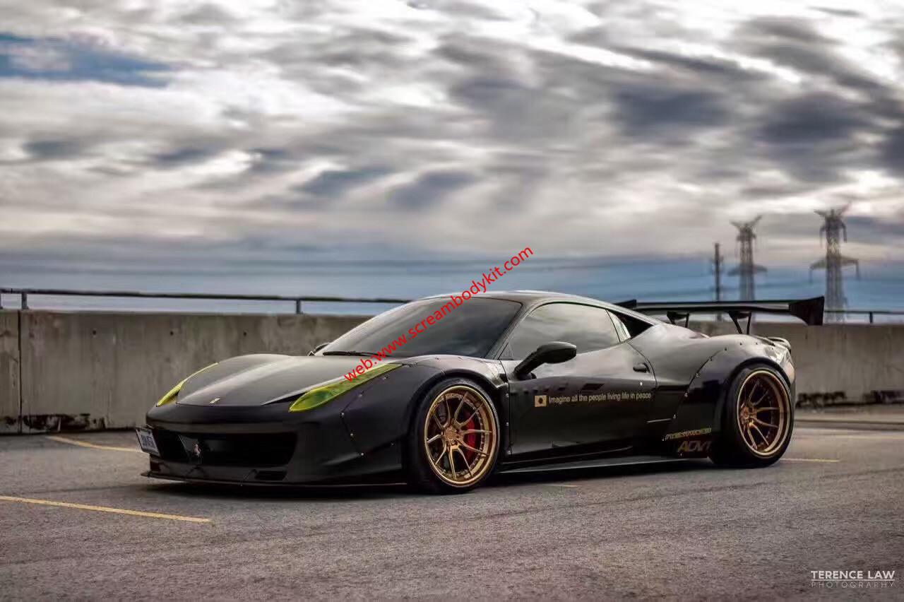 Ferrari F458 wide body kit
