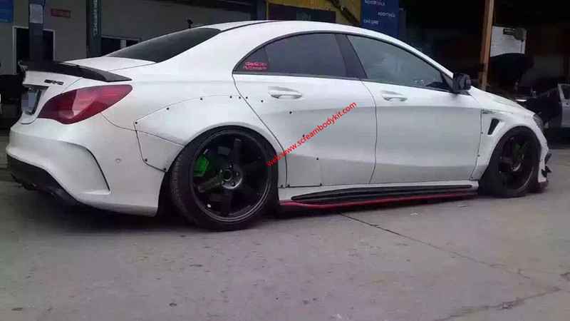 Mercedes-Benz CLA body kit or Fairy Design or Wald bodykit