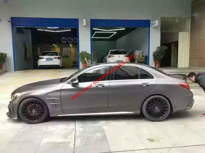 Mercedes-Benz C w204 w205 Carlsson body kit