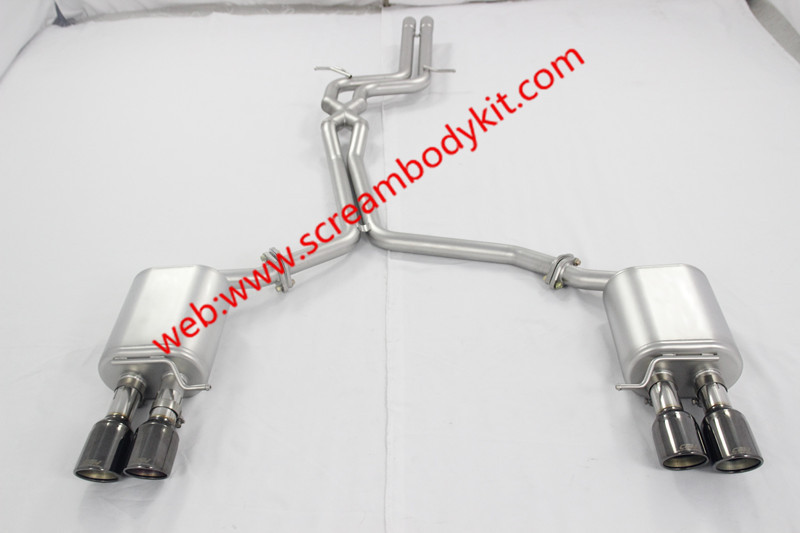 Audi A5 S5 exhaust