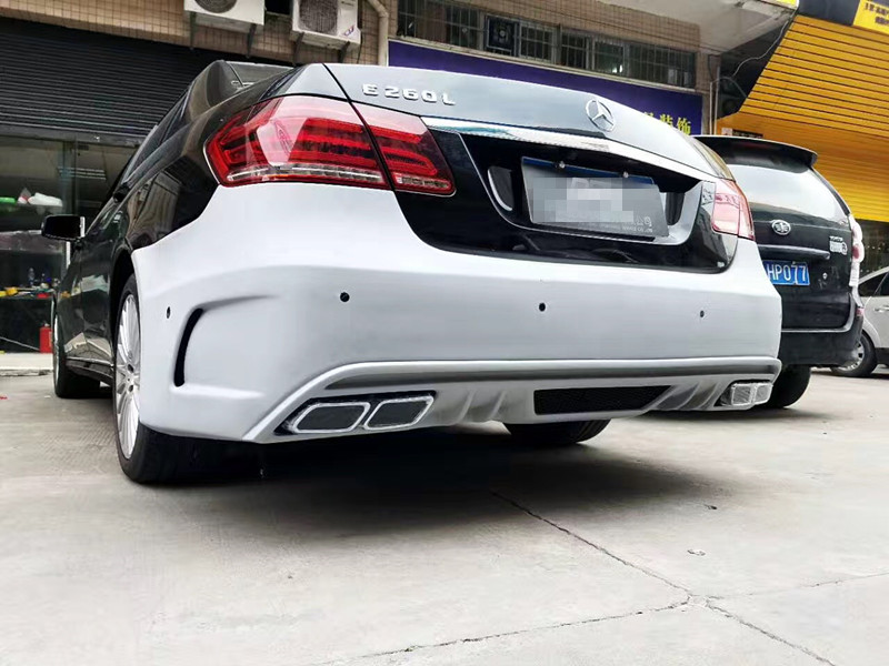 BENZ E W212 body kit front bumper after bumper side skirts