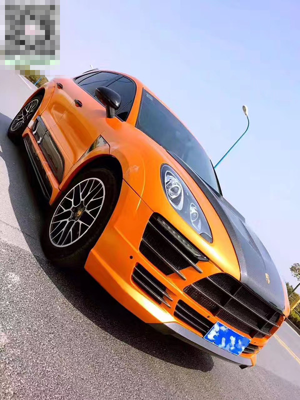 Porsche Macan(14-16)body kit front bumper after bumper side skirts hood rear spoiler fenders
