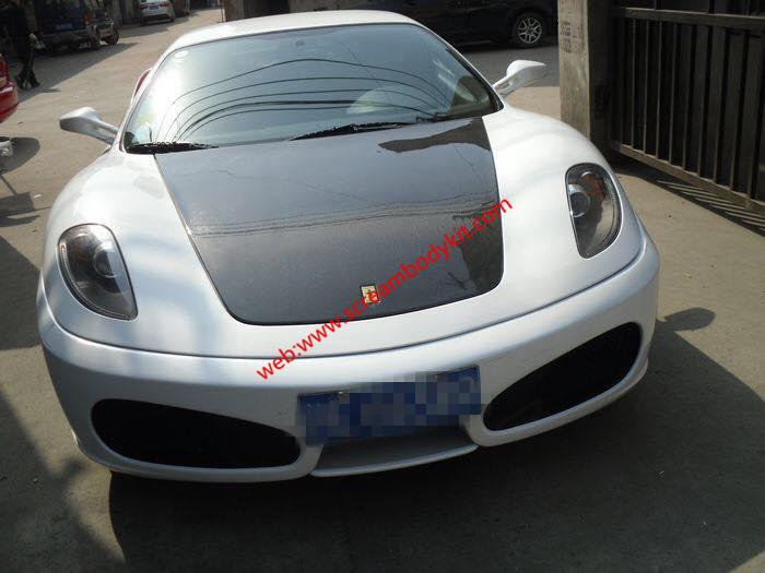 Ferrari F430 hood