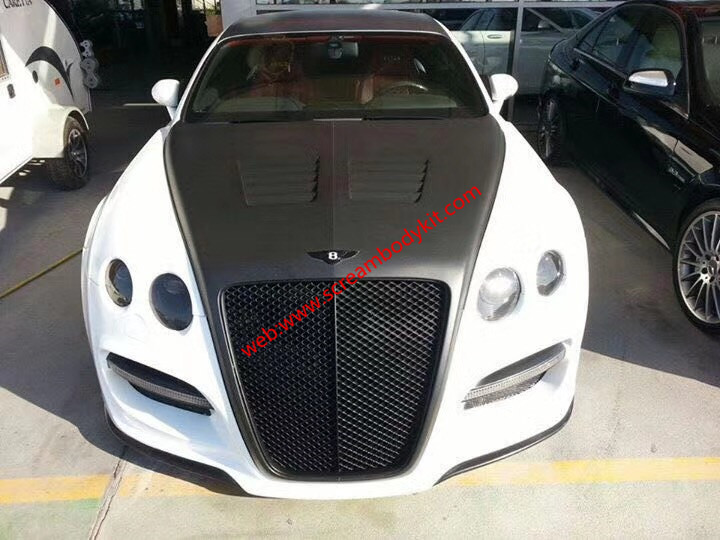 08-14 Bentley Continental GT/GTC/GTS wide body kit front buper after bumper side skirts