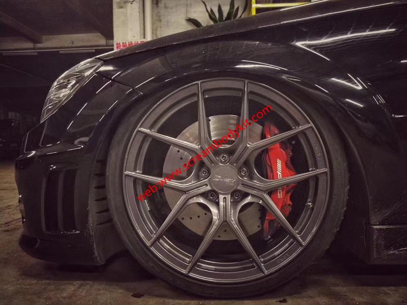 Mercedes-Benz W204 C63 amg update forged wheels