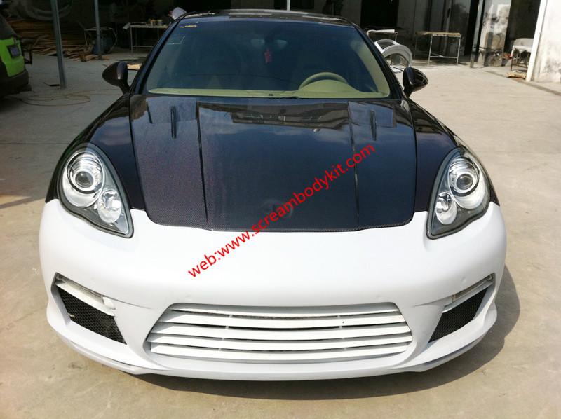 2010-2013 Porsche Panamera body Kit front bumper after bumper side skirts wing rear spoiler