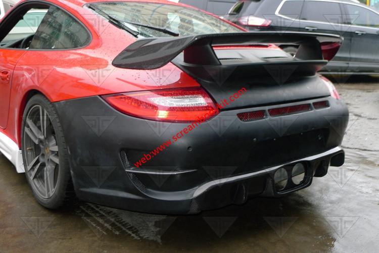 Porsche 997 GT2M carbon fiber spoiler