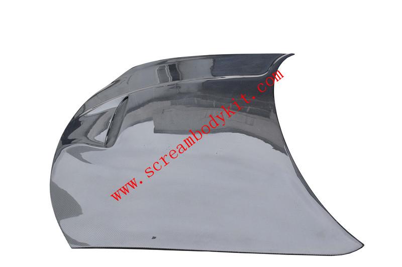 Challenger carbon fiber hood
