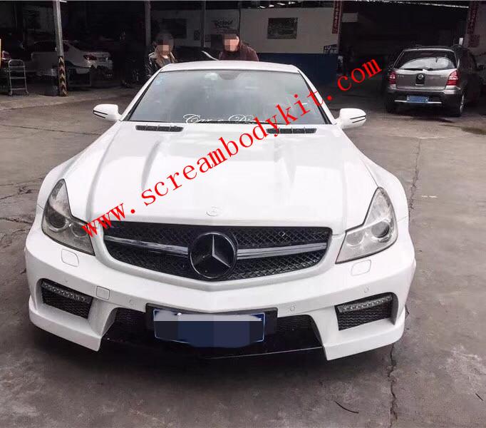 Mercedes-Benz SL body kit front bumper after bumper side skirts fenders