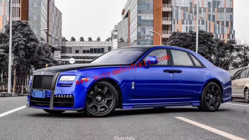 10-14 Rolls-Royce Ghost update  body kit  front bumper after bumper side skirts