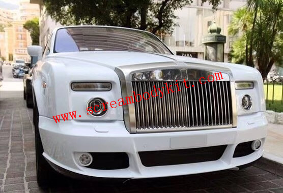 06-13 Rolls-Royce Phantom two doors update Mansory body kit front bumper after bumper side skirts