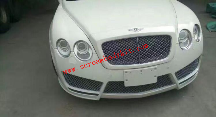 05-13 Bentley Motors Limited update mansory front bumper and led