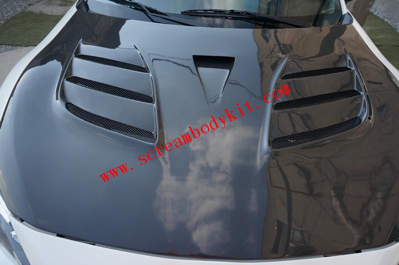 Toyota FT86 GT86 FRS SUBARU BRZ hood VARIS carbon fiber VER.2