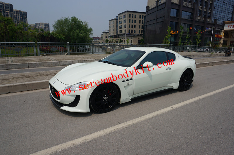 Maserati granturismo GTS DMC body kit front bumper after lip side skirts fenders