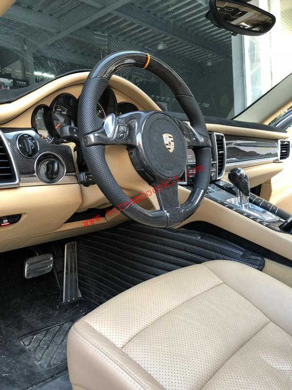 porsche panamera  carbon fiber Steering wheel