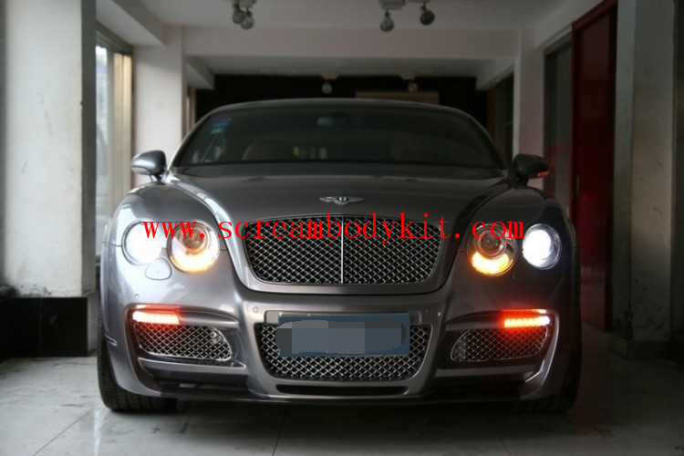 04-13Bentley Continental GT  update ASI  body kit front buper after bumper side skirts