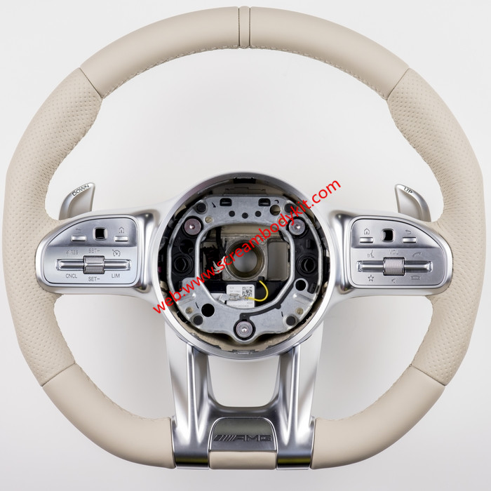 Mercedes-Ben C E S GLC GLA CLA CLS S C63S S63 CLS53 E53 W222 W463 G update NEW Amg steering wheel