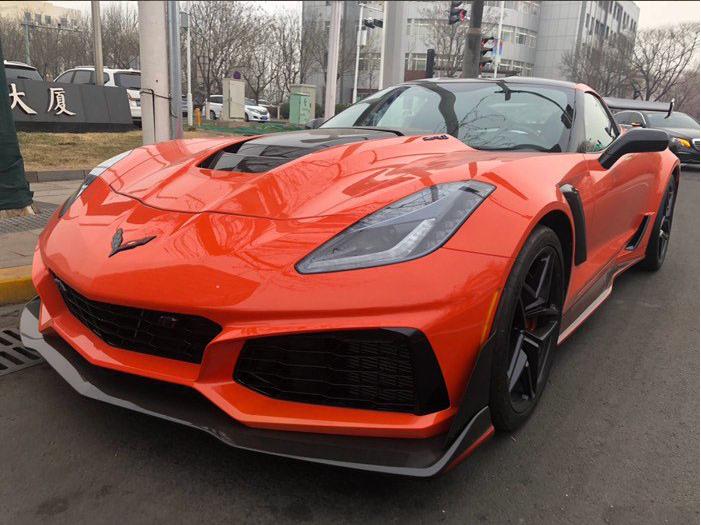 2019 Chevrolet Corvette  z06 C7 update ZR1 front bumper  2014 +  PP