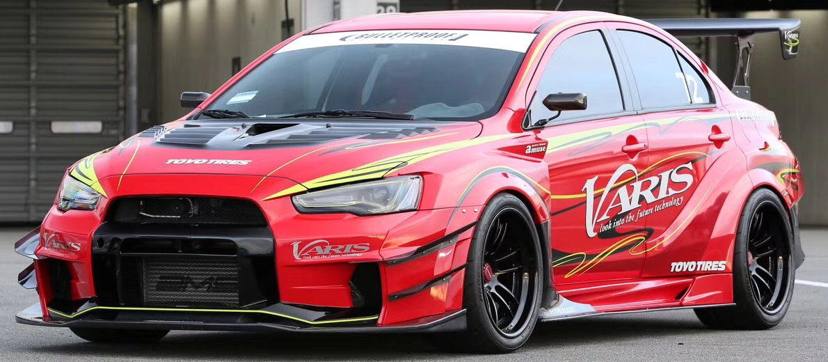 EVOLUTION X EVO 10 Varis wide body kit(ver.1 or ver.2)