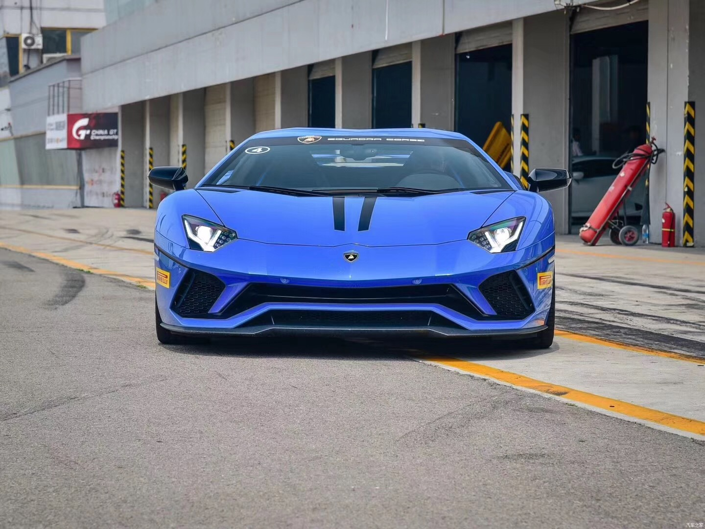 Lamborghini 700 update Lp740S front bumper rear lip