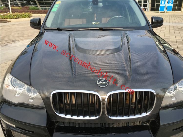 BMW X5 E70 E71 X6 hood HAMANN carbon fiber