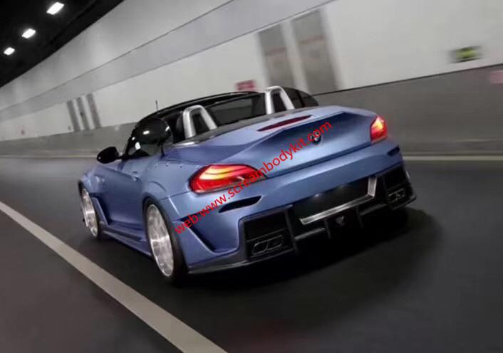 BMW Z4 E89 body kit front bumper after bumper side skirts hood fenders