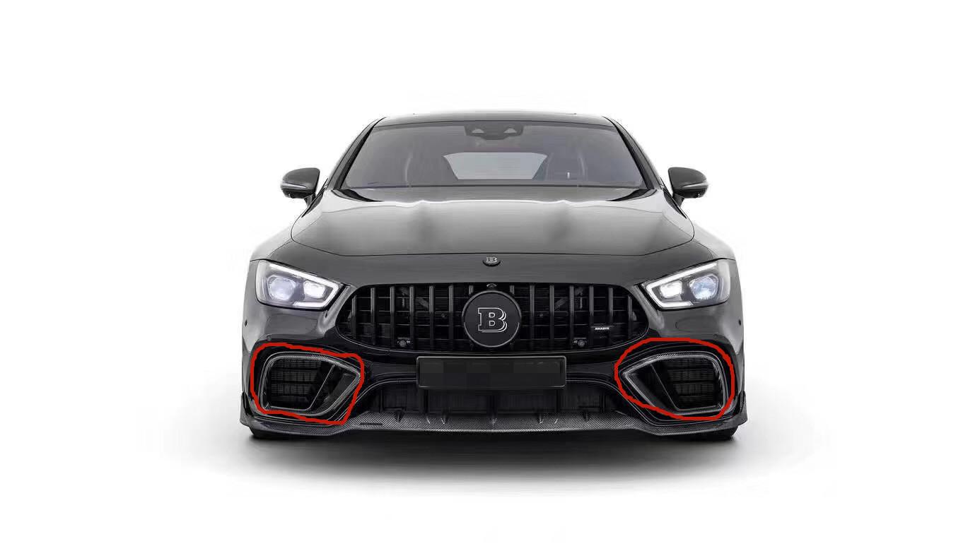 Mercedes-Benz GT50 GT53 front lip rear lip front bumper air intake dry carbon fiber
