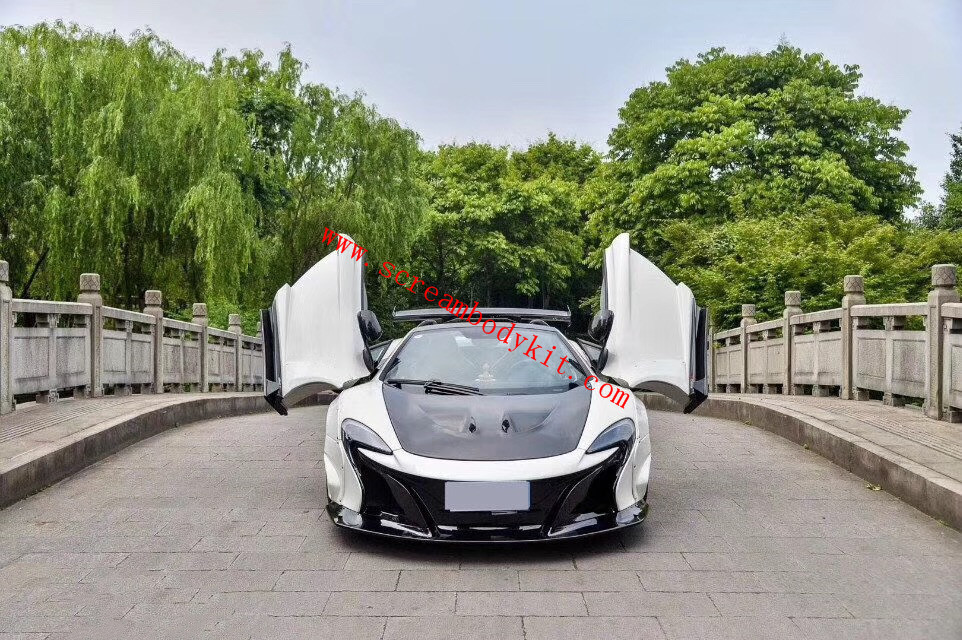 Mclaren 650S wide body kit LB front bumper rear bumper fenders side skirts spoiler