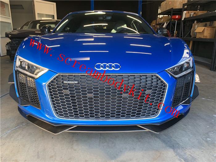 17-19 Audi R8 body kit front lip rear lip side skirts spolier