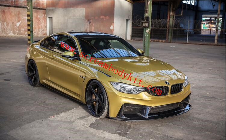 BMW M3 M4 front bumper rear bumper body kit  3D