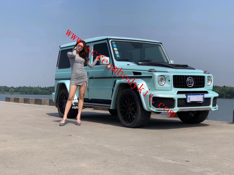 Mercedes-Benz w463 g500 g63 update W464 Brabus wide body kit