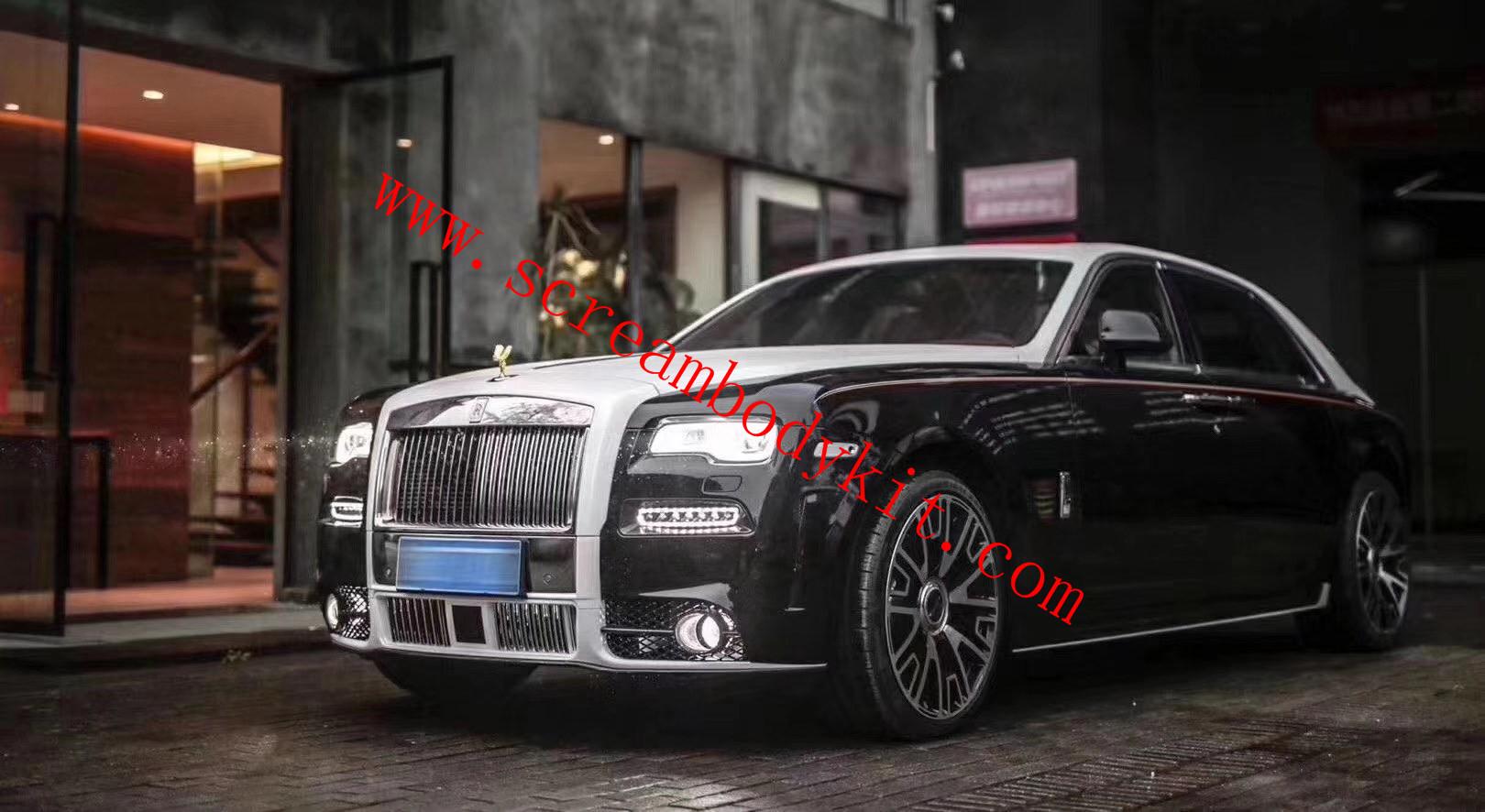 Rolls-Royce Ghost Mansory body kit front bumper rear bumper side skirts