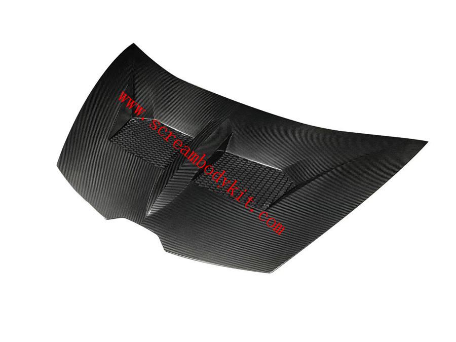 Lamborghini huracan 610 580 LP performance dry carbon fiber hood