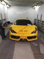 Ferrari 458 ITALIA/SPIDER update  speciale  bodykit front bumper hood and after lip