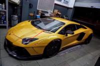 Lamborghini Aventador LP700 wide body kit lb front bumper front lip fenders rear lip spoiler side skirts