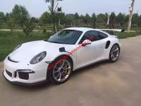 porsche 911 991 997 update GT3 or GT3 RS body kit front bumper after bumper side skirts hood rear spoiler fenders