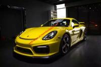 porsche Cayman Boxster 981 update GT4 wide body kit front bumper  rear bumper