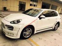 porsche cayenne 958 update HAMANN wide body kit front bumper after bumper side skirts hood rear spoiler fenders