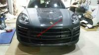porsche macan wide body kit front bumper after bumper side skirts hood rear spoiler fenders