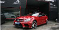 Benz W204 C63 507 update black series wide body kit front bumper after bumper side skirts spoiler fenders hood