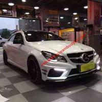 Benz E W207 two doors update Prior Design body kit