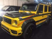 Benz G w463 update mansory wide body kit front bumper after bumper hood spoiler side skirts fenders
