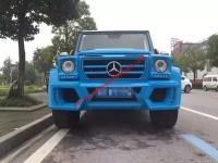 Benz G W463 update WALD wide body kit front bumper after bumper hood spoiler side skirts fenders