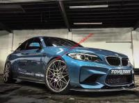 BMW M2 F87  update MTC body kit (front lip after lip skirts wingcarbon fiber)