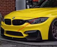 BMW M3 M4 update front lip or after lip side skirts wing carbon fiber