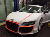 Audi R8 Update Regula wide body kit front bumper after bumper side skirts