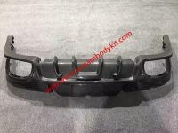 porsche panamera update  carbon fiber rear bumper rear diffuser